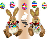 Easter bunny 03 Stock Images