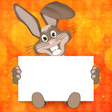 Easter Bunny. Creative Background Illustration Design Stock Images