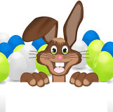 Easter Bunny. Creative Color Design Stock Photo