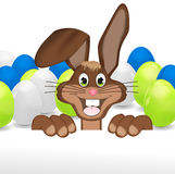 Easter Bunny. Creative Color Design Royalty Free Stock Image