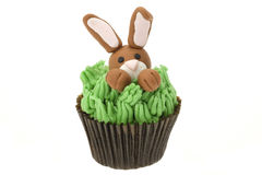 Easter bunny cupcake Royalty Free Stock Photography