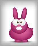 Easter bunny - cute cartoon Royalty Free Stock Photo