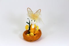 Easter bunny decoration Royalty Free Stock Photography