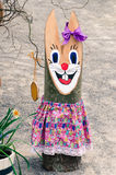 Easter bunny decoration Stock Image