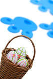 Easter bunny delivery Stock Images