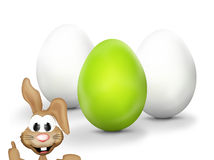 Easter Bunny Design Royalty Free Stock Photo