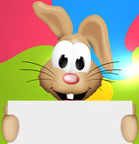 Easter Bunny. Design Graphic Illustration Stock Photography