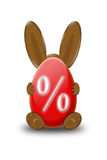 Easter bunny discount Stock Images