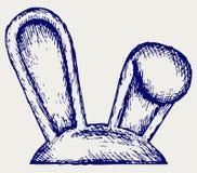 Easter bunny ears Stock Photo