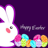 Easter Bunny Ears Vector. Have Yourself a Very Happy Easter Stock Images