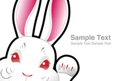 Easter bunny , easter rabbit Royalty Free Stock Photo