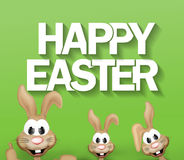 Easter bunny easter time Royalty Free Stock Photos