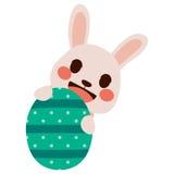 Easter Bunny Egg Stock Photo