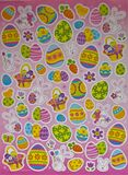 Easter Bunny and Egg stickers