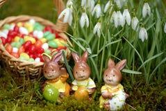 Easter bunnys Royalty Free Stock Photo