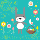 Easter Bunny. Royalty Free Stock Photography