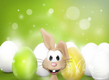 Easter Bunny Figure Royalty Free Stock Photos