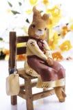 Easter bunny figurine Stock Photo