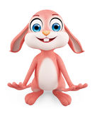 Easter Bunny with funny pose Stock Photography