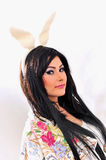 Easter bunny girl Royalty Free Stock Photo