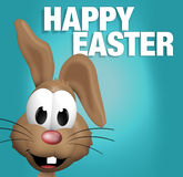 Easter bunny. Graphic illustration image design Royalty Free Stock Images