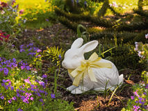 Easter bunny in the grass Royalty Free Stock Images