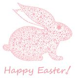 Easter bunny. Happy Easter! Royalty Free Stock Photos