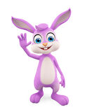 Easter Bunny with hi pose Stock Photography