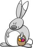 Easter bunny holiday cartoon Royalty Free Stock Photos