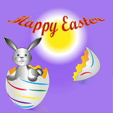 Easter Bunny illustration Stock Image