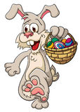 Easter Bunny. Illustration with simple gradients. Stock Image