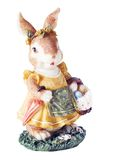 Easter Bunny isolated stock image