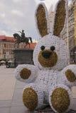 Easter bunny on Josip Jelacic square in Zagreb, Croatia Stock Image