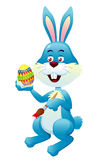 Easter bunny painting Easter eggs Royalty Free Stock Images
