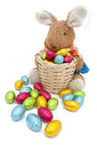 Easter bunny plush Stock Photos