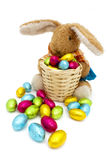 Easter bunny plush Royalty Free Stock Photography