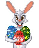 Easter bunny portrait Royalty Free Stock Photography