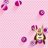 Easter bunny stock illustration