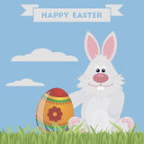 Easter bunny rabbit Royalty Free Stock Photography