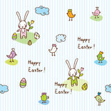 Easter bunny, seamless pattern Royalty Free Stock Photography
