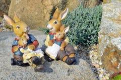 Easter bunny Stock Photo