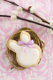 Easter bunny sugar cookie Stock Images