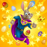 Easter Bunny Superhero Royalty Free Stock Photos