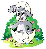 Easter bunny theme image 2 Royalty Free Stock Image