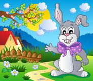 Easter bunny theme image 5 Stock Images