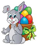 Easter bunny theme image 6 Stock Image