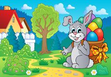 Easter bunny theme image 7 Royalty Free Stock Images