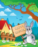 Easter bunny topic image 6 Stock Photos