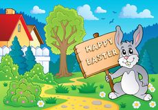 Easter bunny topic image 5 Stock Images