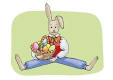 An Easter bunny Royalty Free Stock Photos